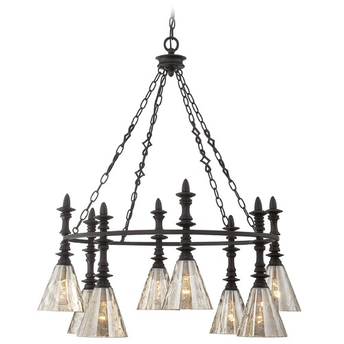 Savoy House Savoy House Oiled Bronze Chandelier 1-4900-8-02