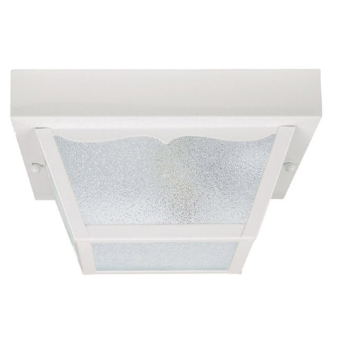 Capital Lighting Capital Lighting White Close To Ceiling Light 9939WH