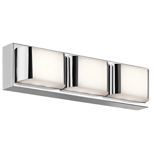 Kichler Lighting Kichler Lighting Nita Chrome LED Bathroom Light 45821CHLED