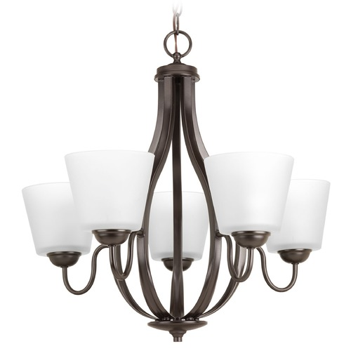Progress Lighting Progress Lighting Arden Antique Bronze Chandelier P4746-20