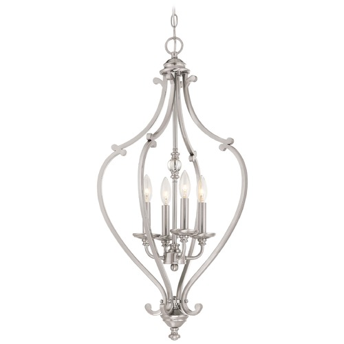 Minka Lavery Minka Savannah Row Brushed Nickel Pendant Light 3333-84