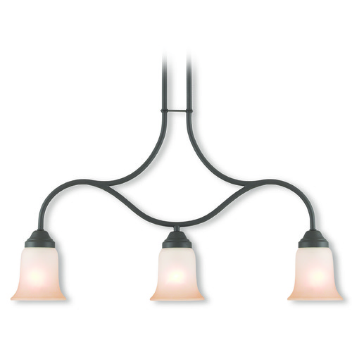 Livex Lighting Livex Lighting Karysa Bronze Island Light with Bell Shade 40704-07