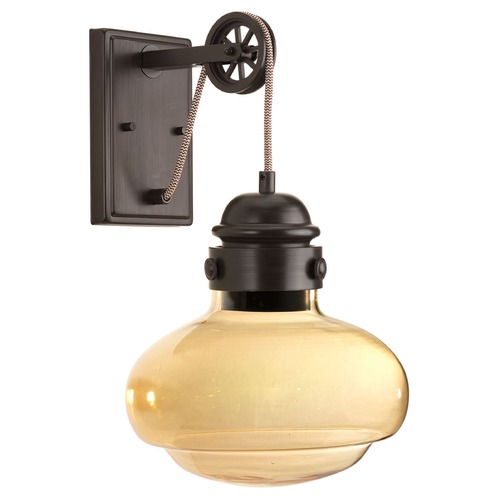 Progress Lighting Progress Lighting Beaker Antique Bronze LED Sconce P7125-2030K9