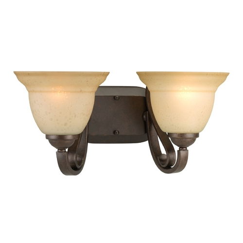 Progress Lighting Progress Bathroom Light in Forged Bronze Finish P2882-77