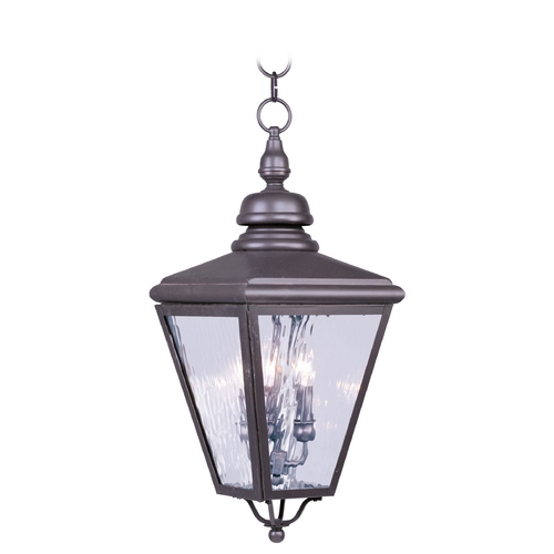 Livex Lighting Livex Lighting Cambridge Bronze Outdoor Hanging Light 2035-07