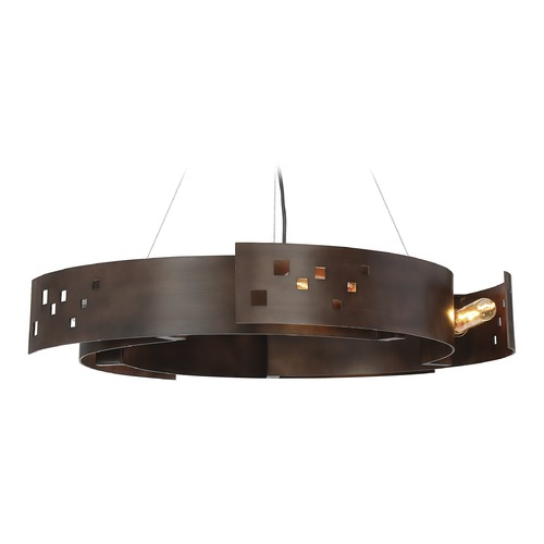Savoy House Savoy House Lighting Odessa Bronze Ore Pendant Light 7-160-5-61