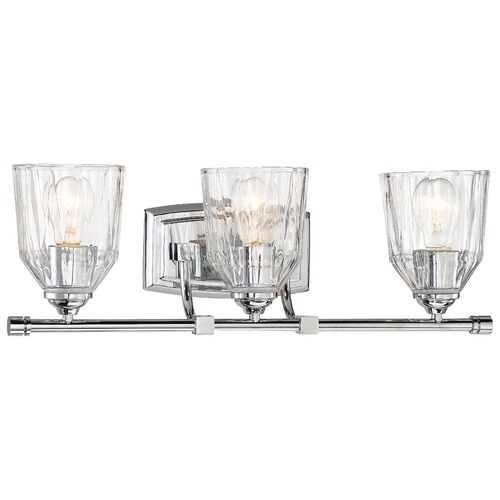 Minka Lavery Minka D'or Chrome Bathroom Light 3383-77