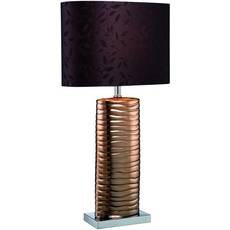 Lite Source Lighting Lite Source Lighting Copper Table Lamp with Oval Shade LS-21281COPPER