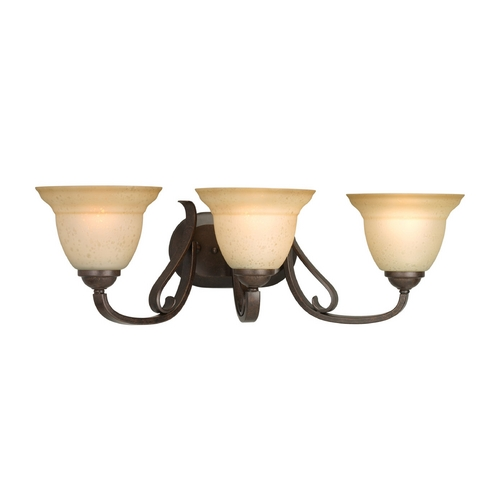 Progress Lighting Progress Bathroom Light in Forged Bronze Finish P2883-77