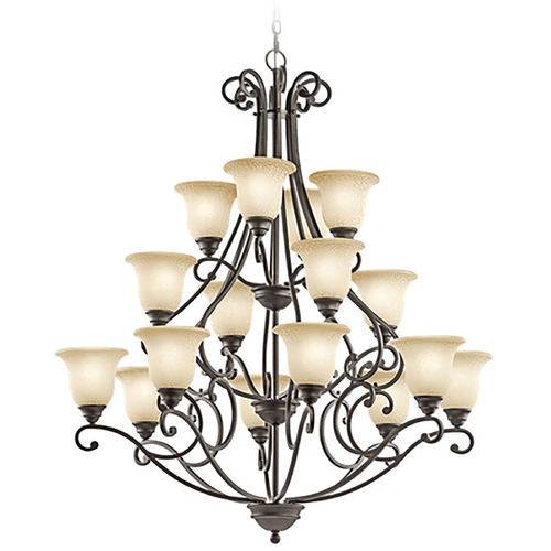 Kichler Lighting Kichler Lighting Camerena Olde Bronze Chandelier 43234OZ