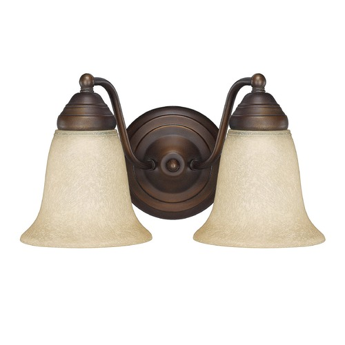 Capital Lighting Capital Lighting Burnished Bronze Bathroom Light 1362BB-297