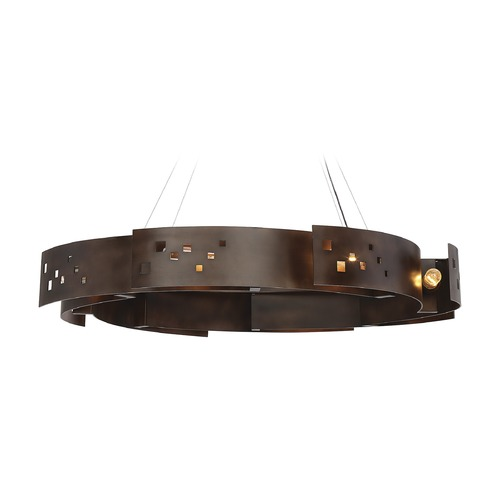 Savoy House Savoy House Lighting Odessa Bronze Ore Pendant Light 7-161-8-61
