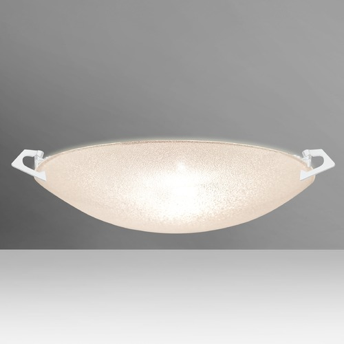 Besa Lighting Besa Lighting Sonya White LED Flushmount Light 8417GL-LED-WH