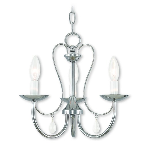 Livex Lighting Livex Lighting Mirabella Polished Chrome Chandelier 40863-05