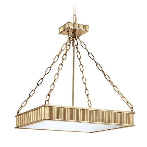 Hudson Valley Lighting Pendant Light in Aged Brass Finish 935-AGB