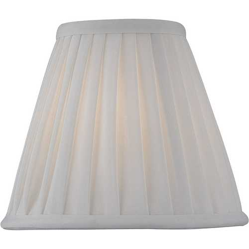 Lite Source Lighting Pleated Empire Lamp Shade with Clip-On Assembly CH5177-6