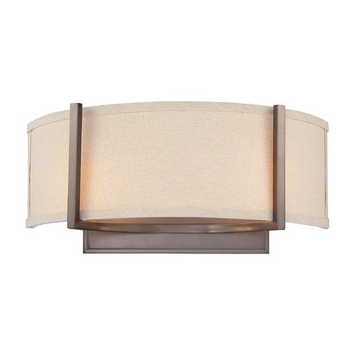 Nuvo Lighting Modern Sconce Wall Lights in Hazel Bronze Finish 60/4854