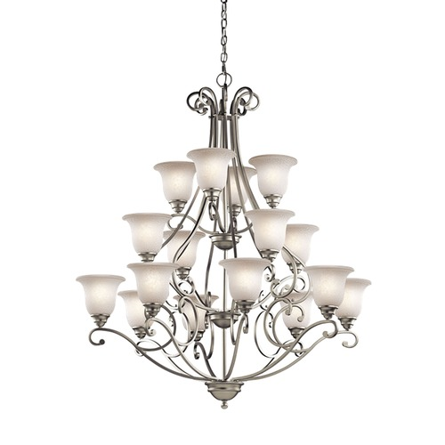 Kichler Lighting Kichler Lighting Camerena Brushed Nickel Chandelier 43234NI