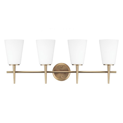 Sea Gull Lighting Sea Gull Lighting Driscoll Satin Bronze Bathroom Light 4440404-848