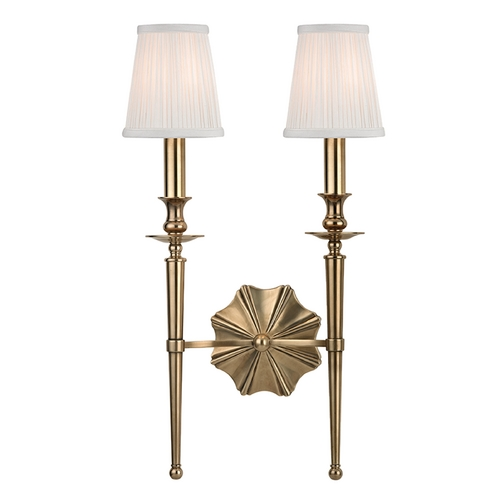 Hudson Valley Lighting Hudson Valley Lighting Ellery Aged Brass Sconce 9922-AGB
