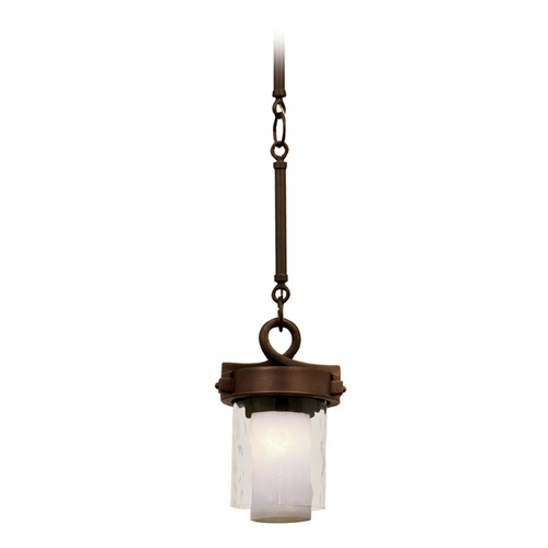 Kalco Lighting Kalco Lighting Newport Satin Bronze Mini-Pendant Light with Cylindrical Shade 5750SZ