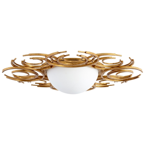Cyan Design Cyan Design Vivian Gold Leaf Flushmount Light 06915