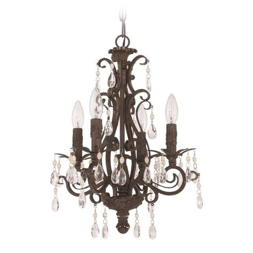 Jeremiah Lighting Jeremiah Lighting Englewood French Roast Mini-Chandelier 25614-FR
