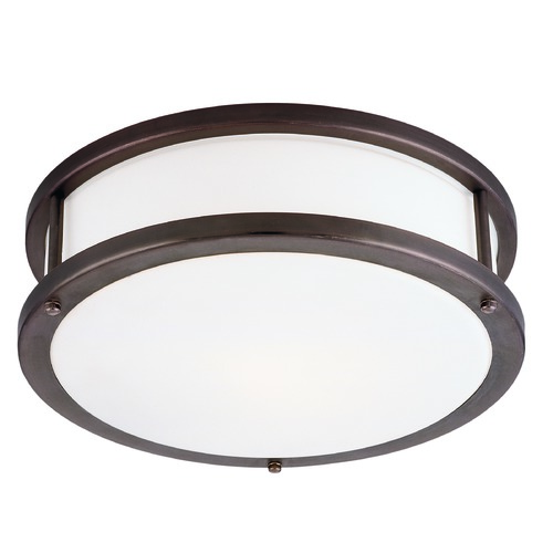 Access Lighting Access Lighting Conga Bronze LED Flushmount Light 50081LEDDLP-BRZ/OPL