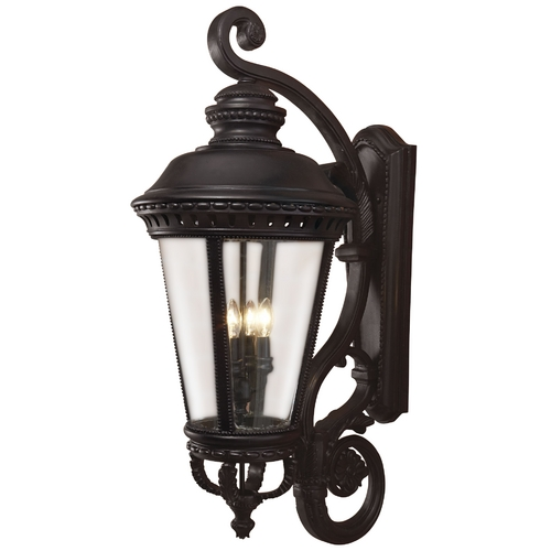 Feiss Lighting Oversize 37-1/4-Inch Outdoor Wall Light OL1905BK