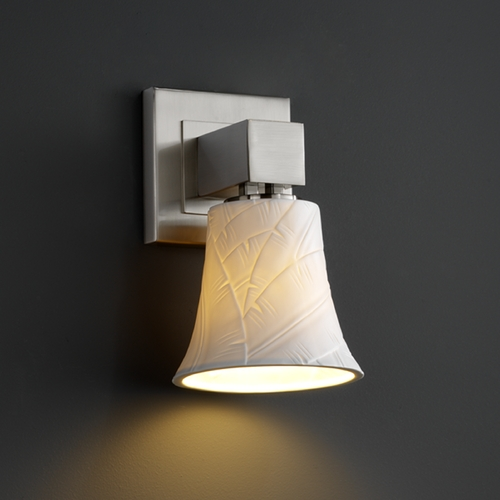 Justice Design Group Justice Design Group Limoges Collection Sconce POR-8705-20-BANL-NCKL