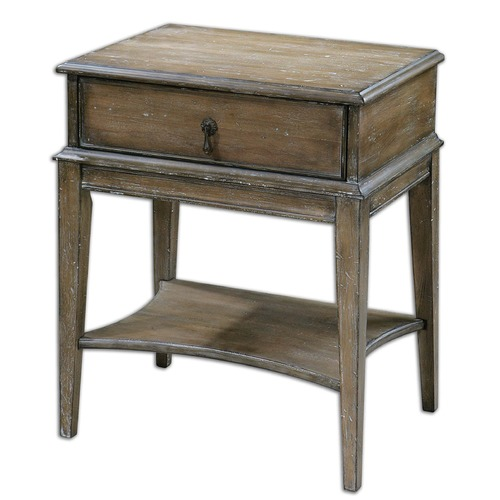 Uttermost Lighting Uttermost Hanford Weathered Accent Table 24312