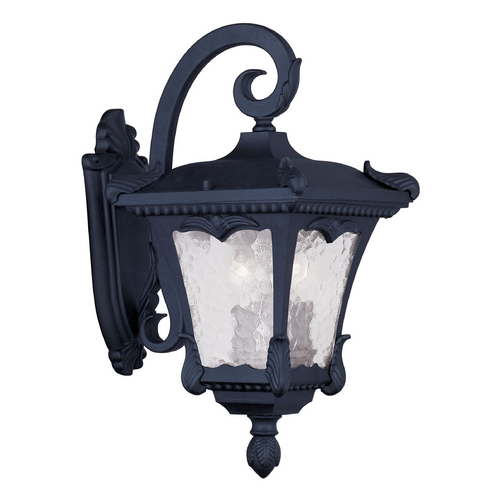 Livex Lighting Livex Lighting Millstone Black Outdoor Wall Light 7983-04