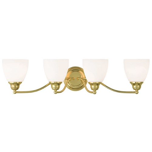 Livex Lighting Livex Lighting Somerville Polished Brass Bathroom Light 13674-02