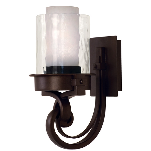 Kalco Lighting Kalco Lighting Newport Satin Bronze Sconce 5751SZ