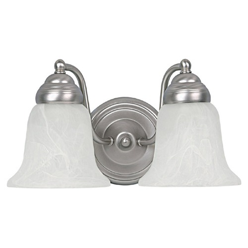 Capital Lighting Capital Lighting Matte Nickel Bathroom Light 1362MN-117