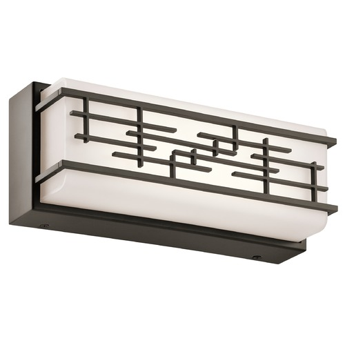 Kichler Lighting Kichler Lighting Zolon Olde Bronze LED Bathroom Light 45828OZLED