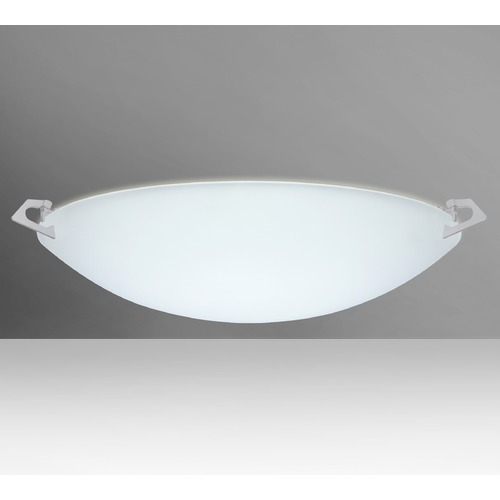Besa Lighting Besa Lighting Sonya Satin Nickel LED Flushmount Light 841825-LED-SN
