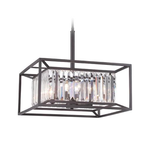 Designers Fountain Lighting Designers Fountain Linares Vintage Bronze Pendant Light 87431-VB