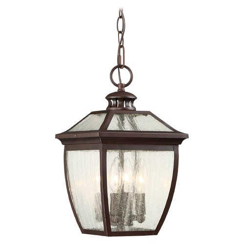 Minka Lavery Minka Sunnybrook Alder Bronze Outdoor Hanging Light 72524-246