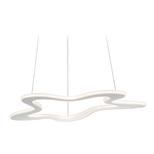 Elan Lighting Elan Lighting Kazza Chrome LED Pendant Light 83610