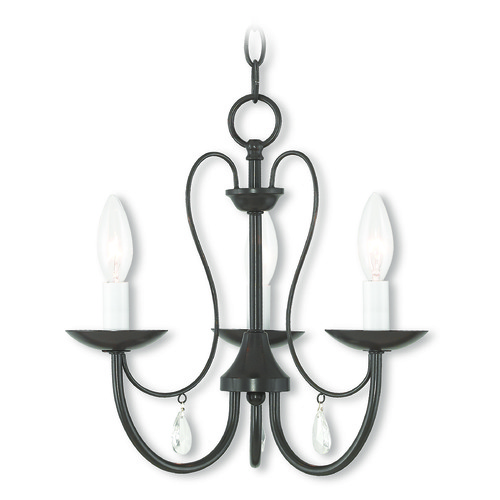 Livex Lighting Livex Lighting Mirabella English Bronze Chandelier 40863-92