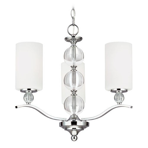 Sea Gull Lighting Sea Gull Lighting Englehorn Chrome LED Mini-Chandelier 3113403EN3-05