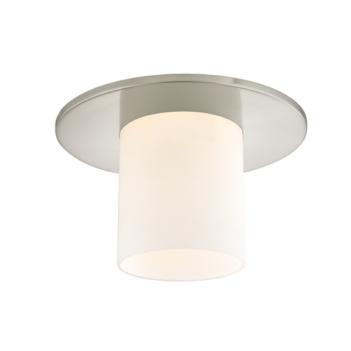 Recesso Lighting by Dolan Designs Decorative Ceiling Trim for Recessed Lights with Frosted Glass  10532-09