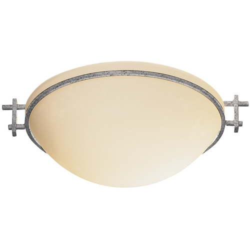 Hubbardton Forge Lighting 12-Inch Flush Mount Ceiling Light 124251-20-G45