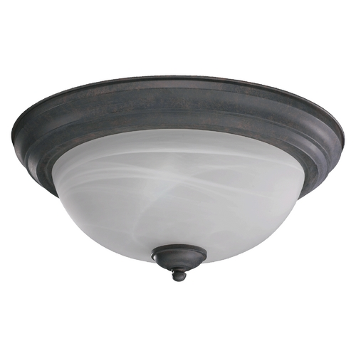 Quorum Lighting Quorum Lighting Toasted Sienna Flushmount Light 3066-15-44