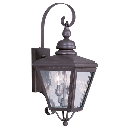 Livex Lighting Livex Lighting Cambridge Bronze Outdoor Wall Light 2031-07