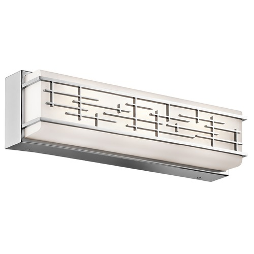 Kichler Lighting Kichler Lighting Zolon Chrome LED Bathroom Light 45829CHLED