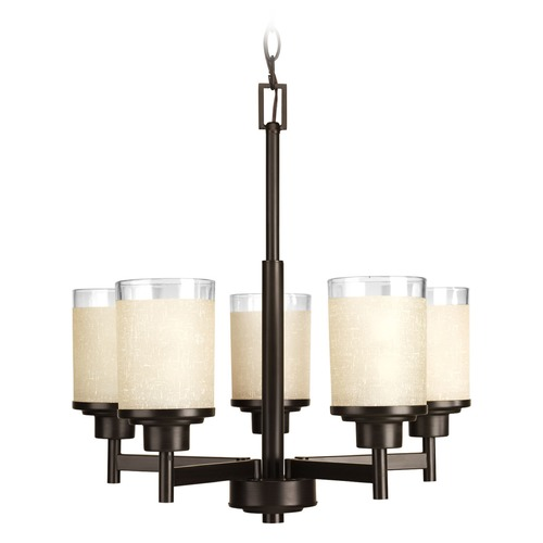Progress Lighting Progress Lighting Alexa Antique Bronze Chandelier P4459-20