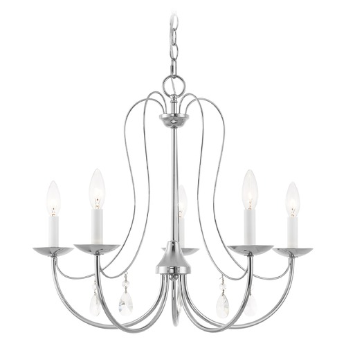 Livex Lighting Livex Lighting Mirabella Polished Chrome Chandelier 40865-05