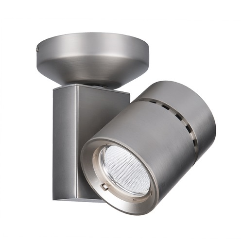 WAC Lighting WAC Lighting Brushed Nickel LED Monopoint Spot Light 2700K 2476LM MO-1035F-827-BN